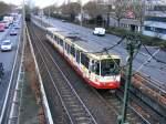 Strasenbahn - Stadtbahn/109231/ein-stadtbahnwagen-b-der-dortmunder-stadtwerke Ein Stadtbahnwagen B der Dortmunder Stadtwerke wird am 19.12.2008 von der Haltestelle 'Kohlgartenstraße' her kommend auf dem Weg zur Innenstadt gleich in den Stadtbahntunnel einfahren.